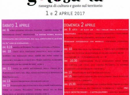 Apr. 2016 Golosaria Monferrato